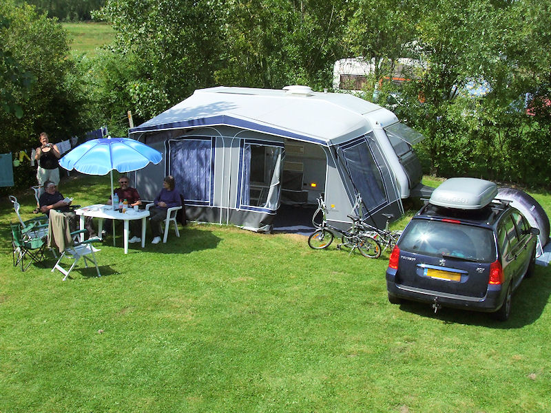 Parking Camping Car Marquenterre