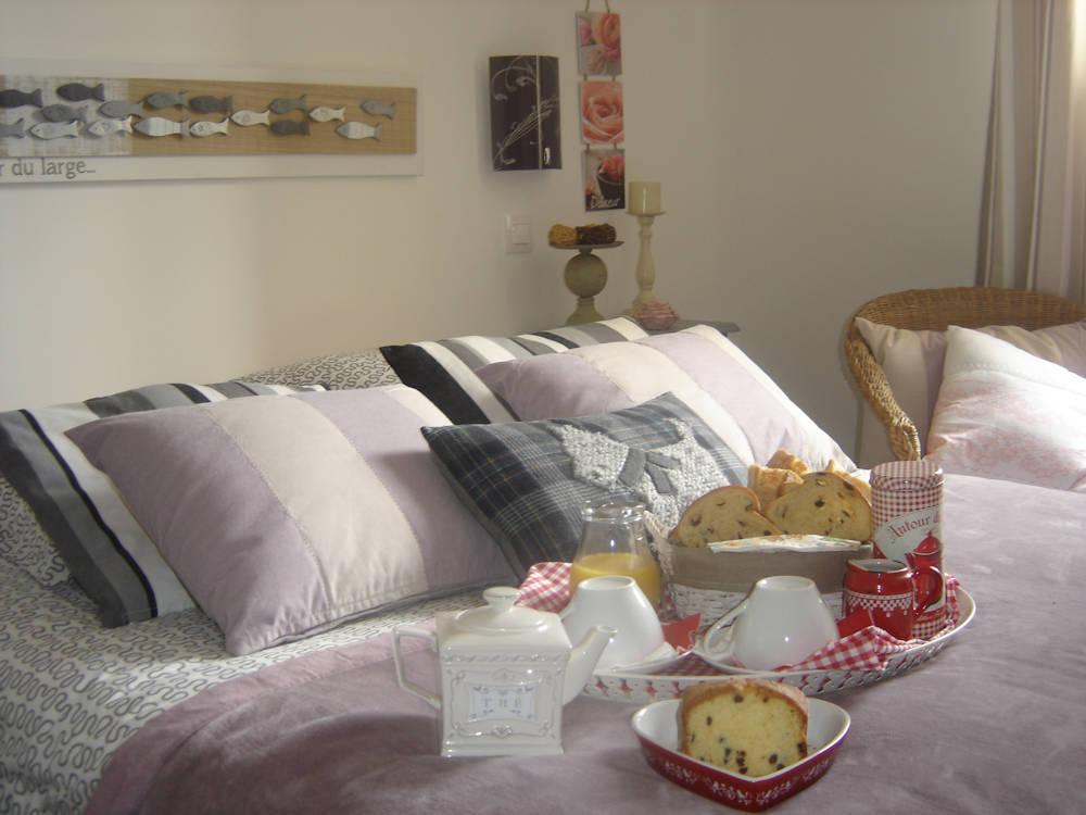 chambres d'hôtes la gourmandise, chambres grangues, côte fleurie