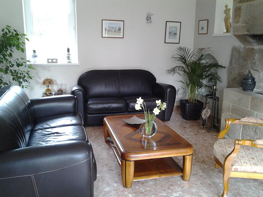 chambre d 39 h tes ti mina chambre perros guirec ploumanac 39 h c te de granit rose. Black Bedroom Furniture Sets. Home Design Ideas