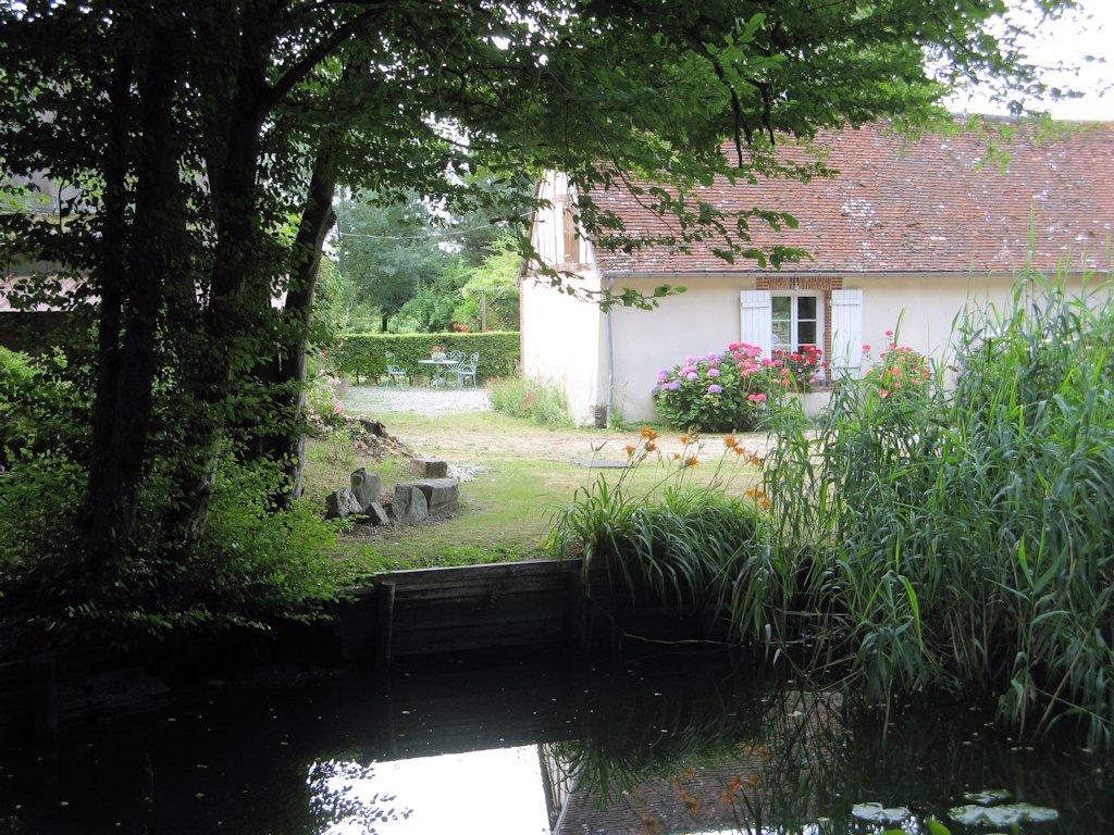 chambre d 39 h tes le jardin de la fauveli re chambre pullay dans l 39 eure 27 normandie sud. Black Bedroom Furniture Sets. Home Design Ideas