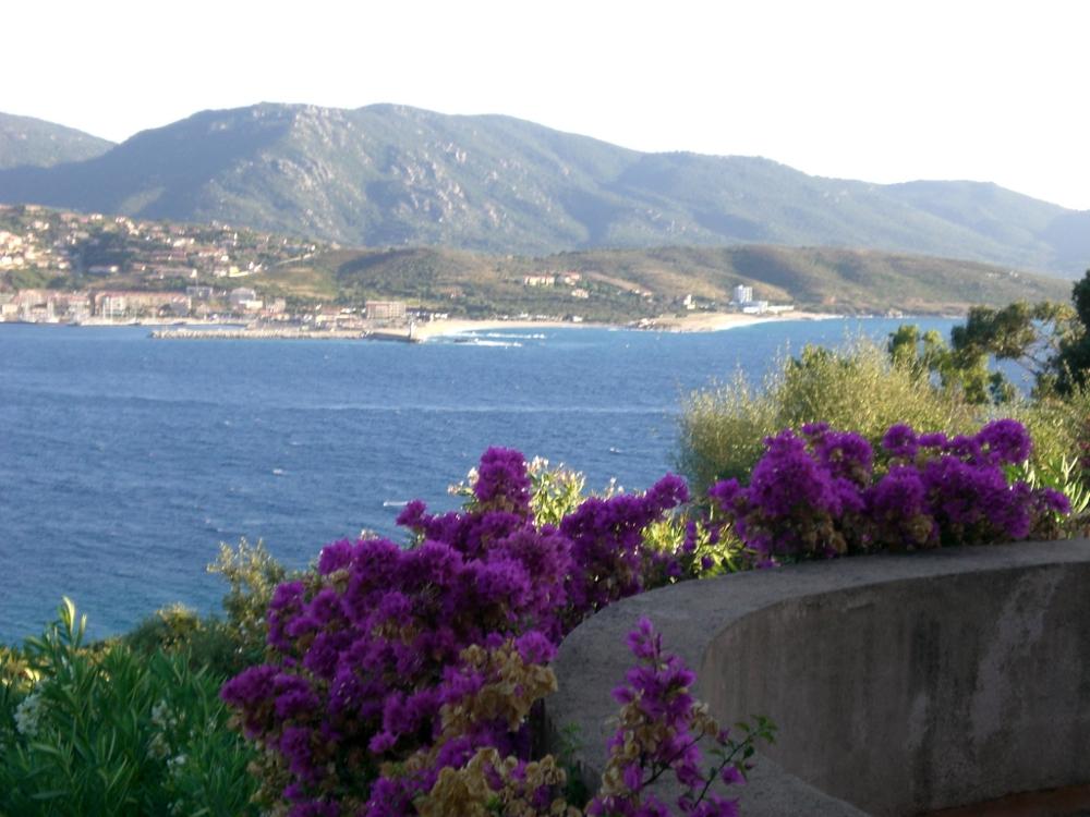 Villa vetricella chambres d 39 h te vue mer chambres olmeto plage golfe du valinco en corse du - Chambre d hote biarritz vue sur mer ...