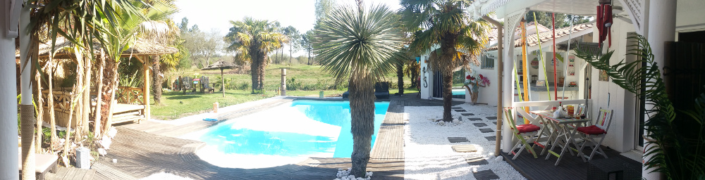 Chambres d 39 h tes l 39 hacienda golf spa chambres et duplex for Piscine spa gujan mestras
