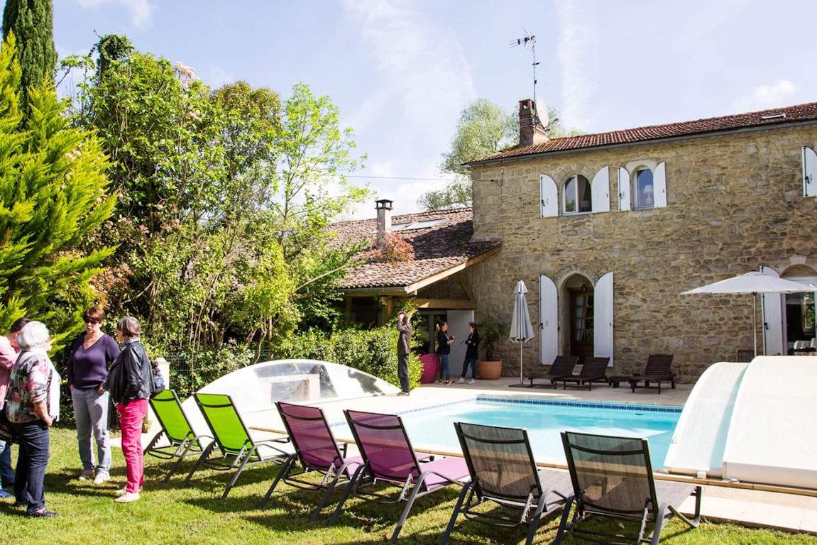 Gästezimmer Le Clos d\'Any, Zimmern und Familienzimmer Fontet ...