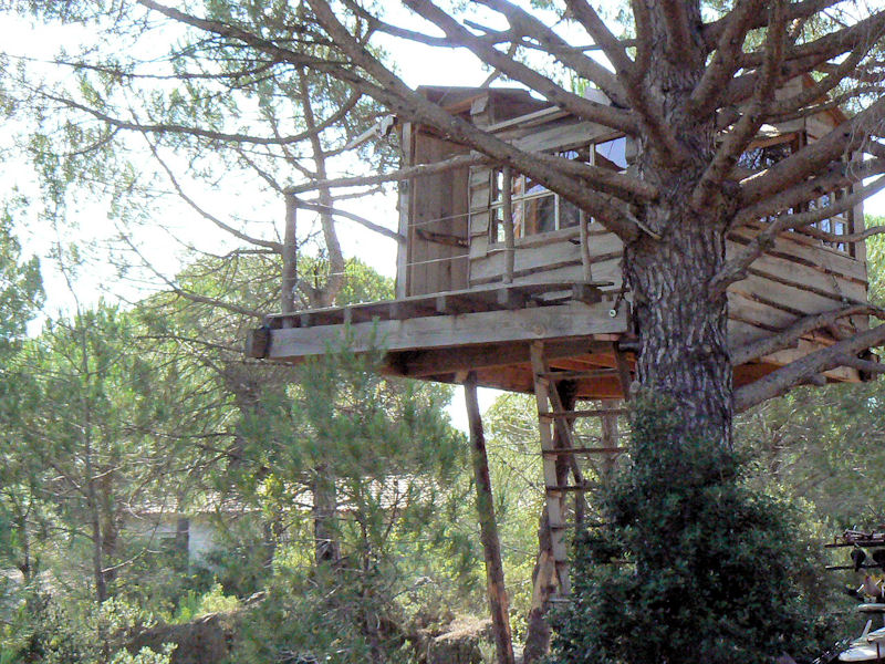 Chambres d 39 h tes le sabel cabanes et chambres mour ze - Chambre d hote dans les arbres ...