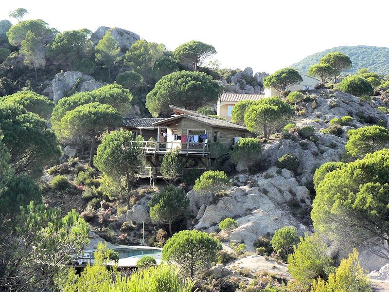 Chambres d 39 h tes le sabel cabanes et chambres mour ze - Chambre d hote cabane dans les arbres ...