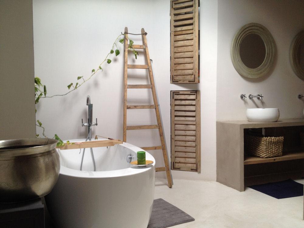 Beautiful salle de bain chambre d hotes contemporary for Chambre d hote mayotte