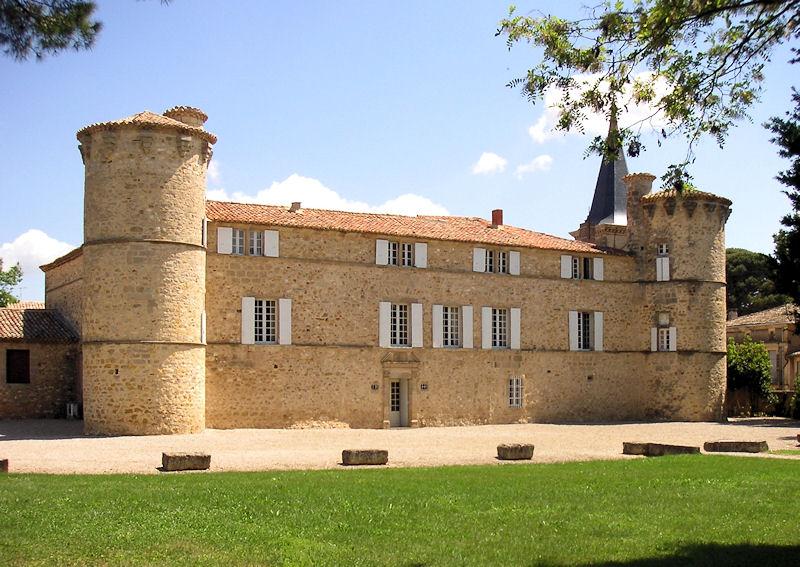 Chambres d 39 h tes ch teau de jonqui res chambres jonqui res saint guilhem le d sert - Chambres d hotes chateau ...
