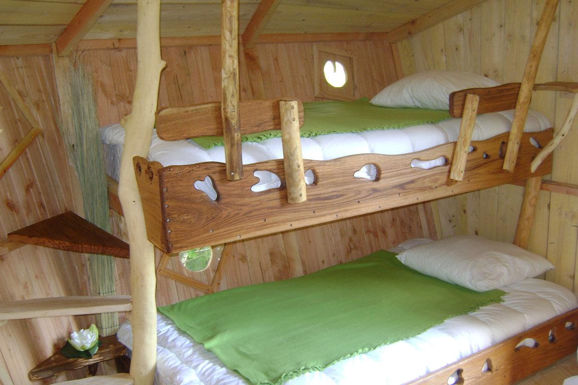 Chambres d 39 h tes cabanes dans les arbres et avec spa - Chambre d hote grignan drome ...