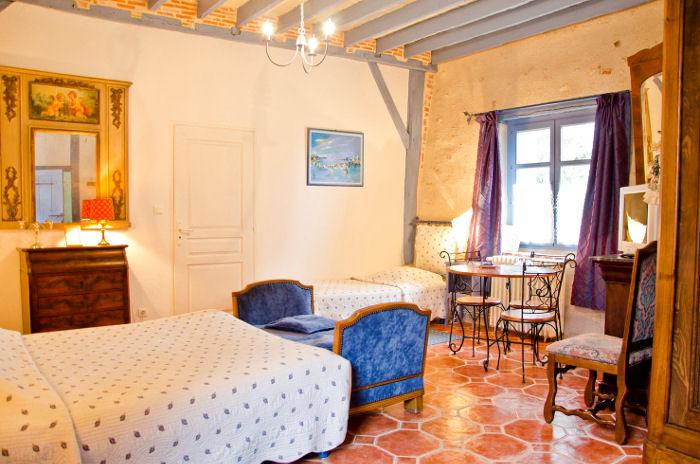 Chambres d 39 h tes le manoir de la maison blanche chambres d 39 h tes amboise touraine - Chambres d hotes touraine ...