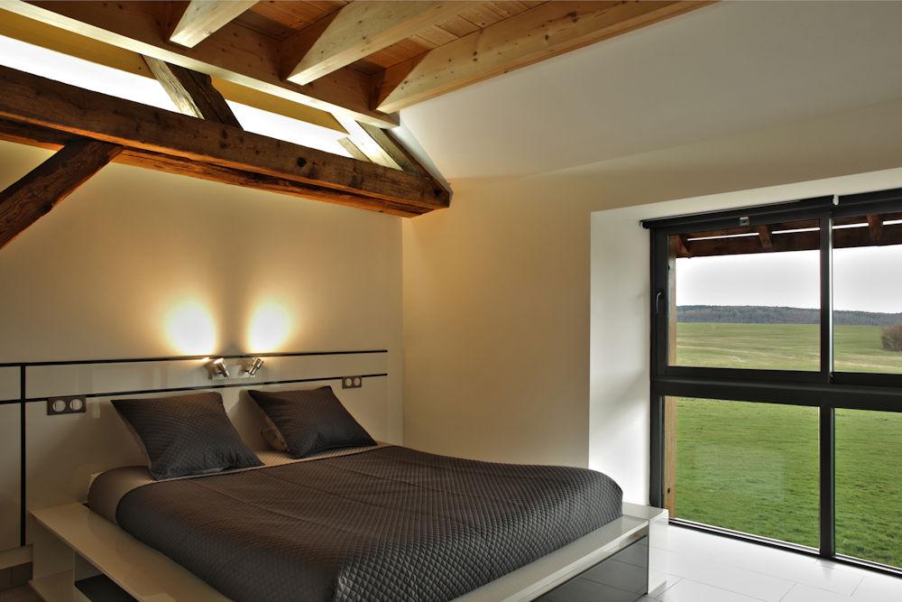 Chambres d 39 h tes la ferme du bois joli lac de chalain for Camping le bois joli la chambre