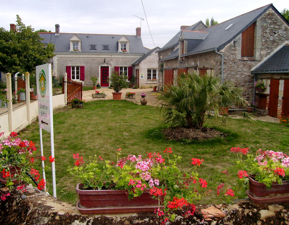 Chambres d 39 h tes de la gaignardi re bed breakfasts for Chambre agriculture maine et loire