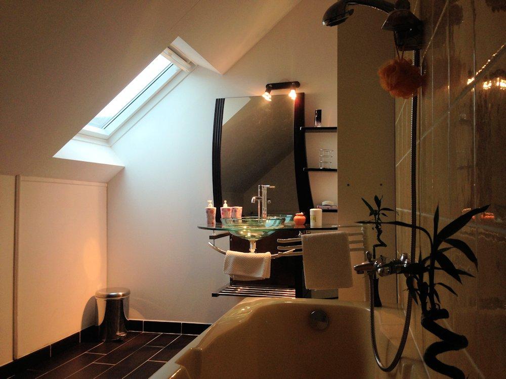 chambre d 39 h tes les lions chambre montmartin sur mer dans la manche 50 manche. Black Bedroom Furniture Sets. Home Design Ideas
