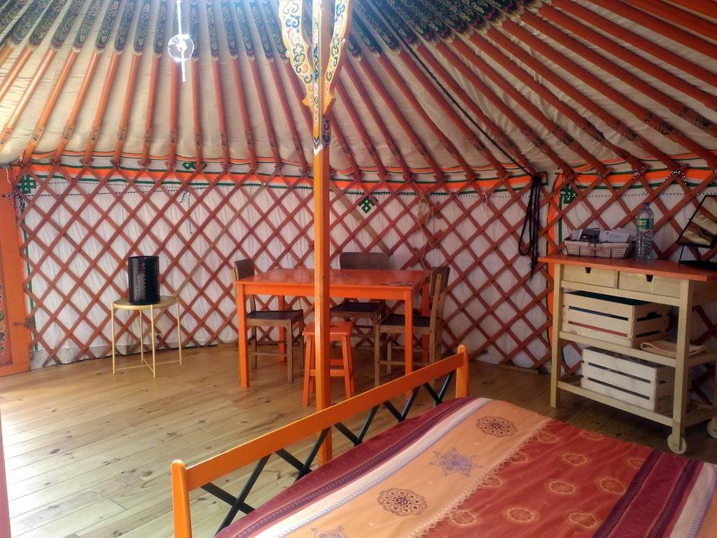 Colonne Salle De Bain Neo Line ~ chambre d h tes yourte du sancy yourte le mont dore massif du sancy