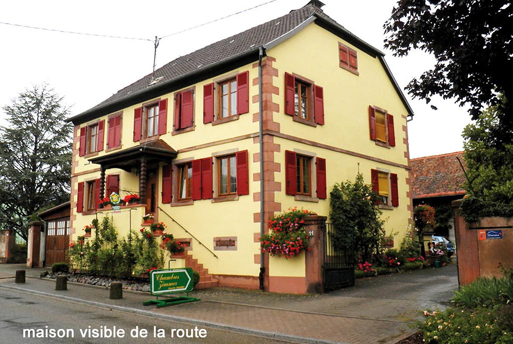 Chambre DHtes Chez Mado Obernai Chambres Ottrott Route Des