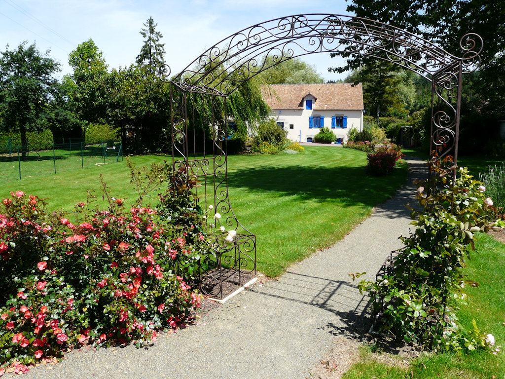 Au jardin d 39 h te kamer in ch risay in la sarthe 72 for Au jardin welkom