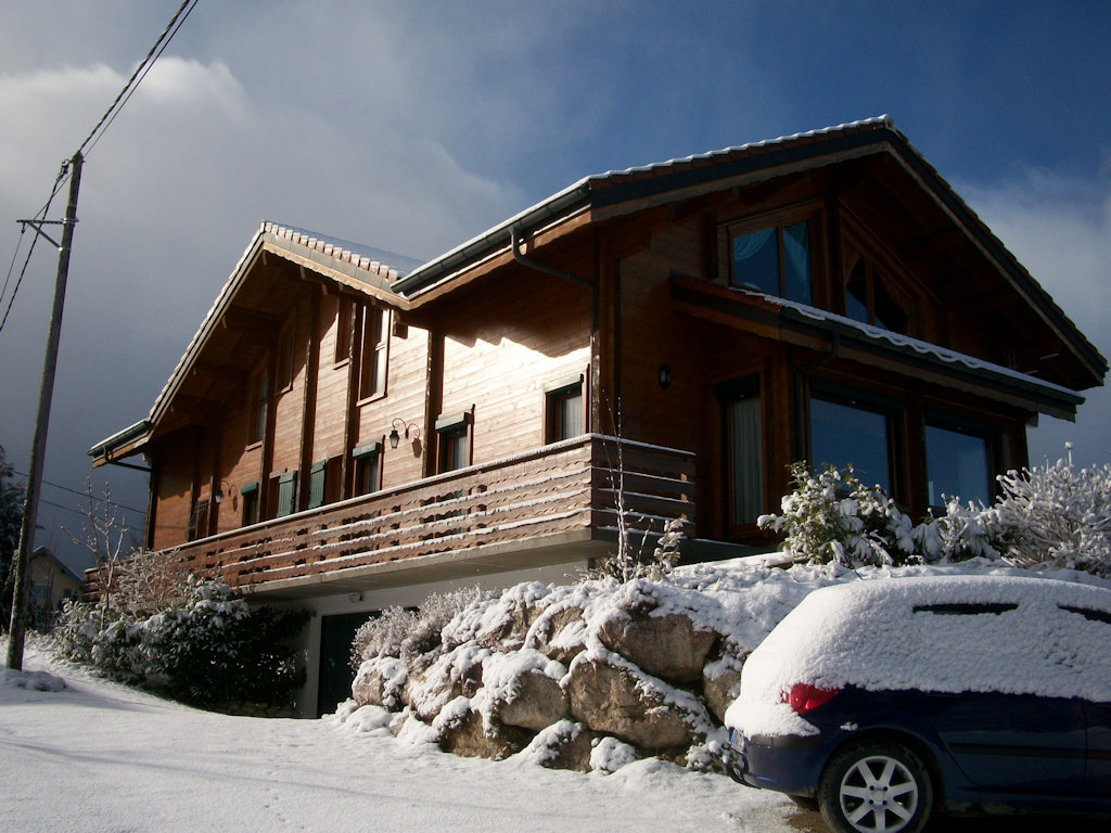 Chambres d 39 h tes chalet les aigles chambres saint sixt for Chambre hote 74