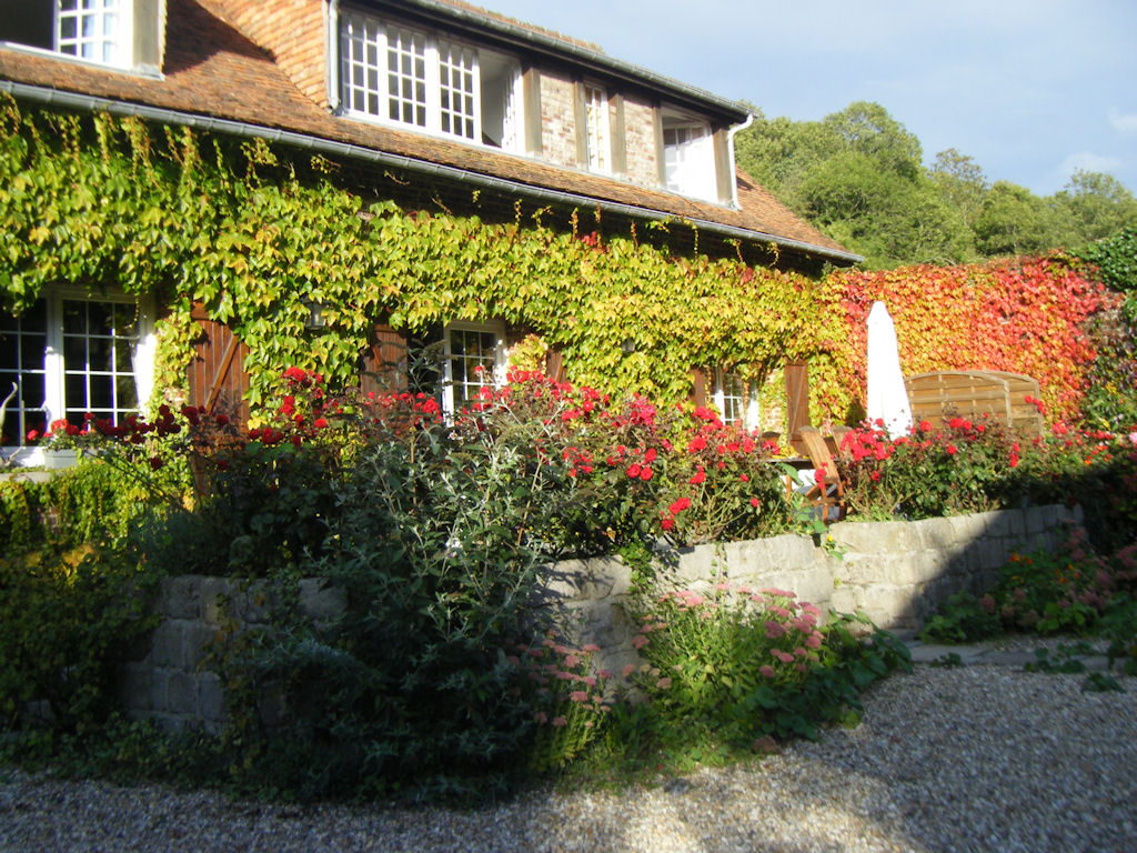 Chambre d 39 h tes la petite maison chambre veules les roses haute normandie - Normandie chambre d hote ...