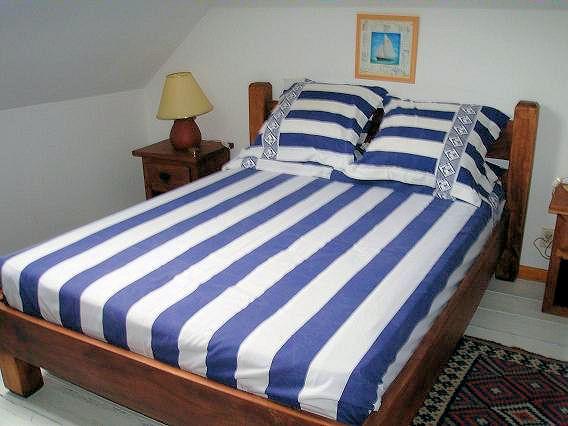 Chambres d 39 h tes la maison bleue en baie chambres au for Chambre d hote au crotoy