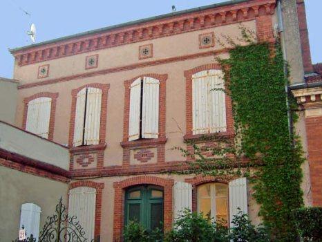 chambres d'hôtes villa bellevue, chambres albi