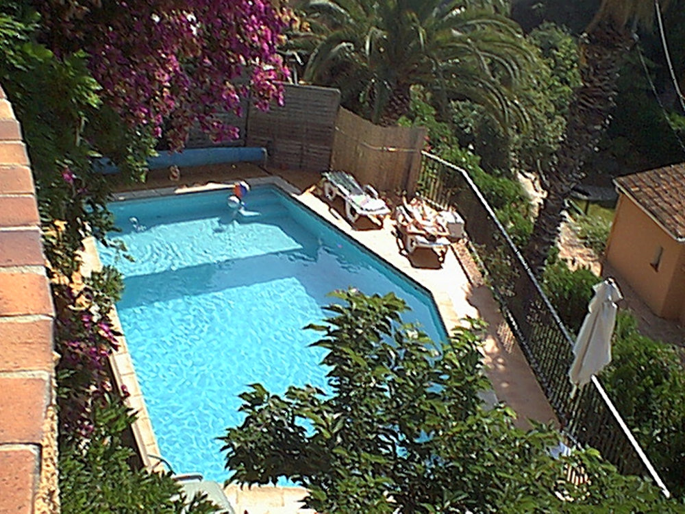 chambres d'hôtes villa les dauphins, chambres le lavandou