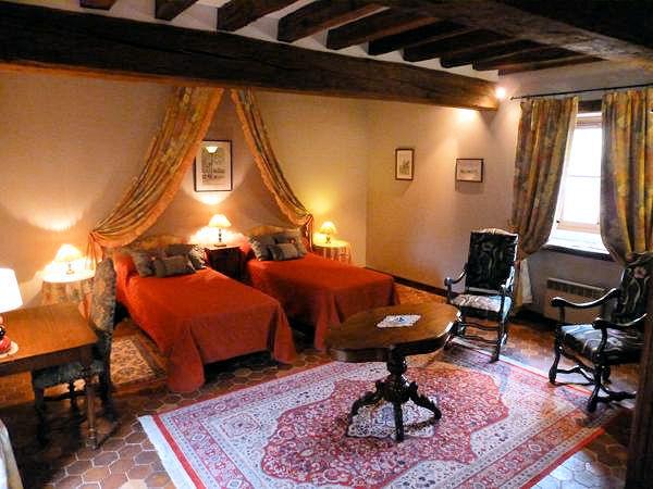 Château de Ribourdin : Chambre d\'Hôtes de Charme, Zimmern Chevannes