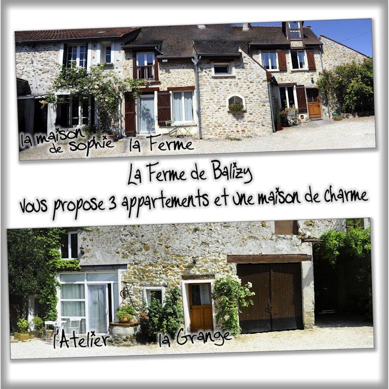 Chambres d 39 h tes la ferme de balizy appartements - Chambre d hotes region parisienne ...