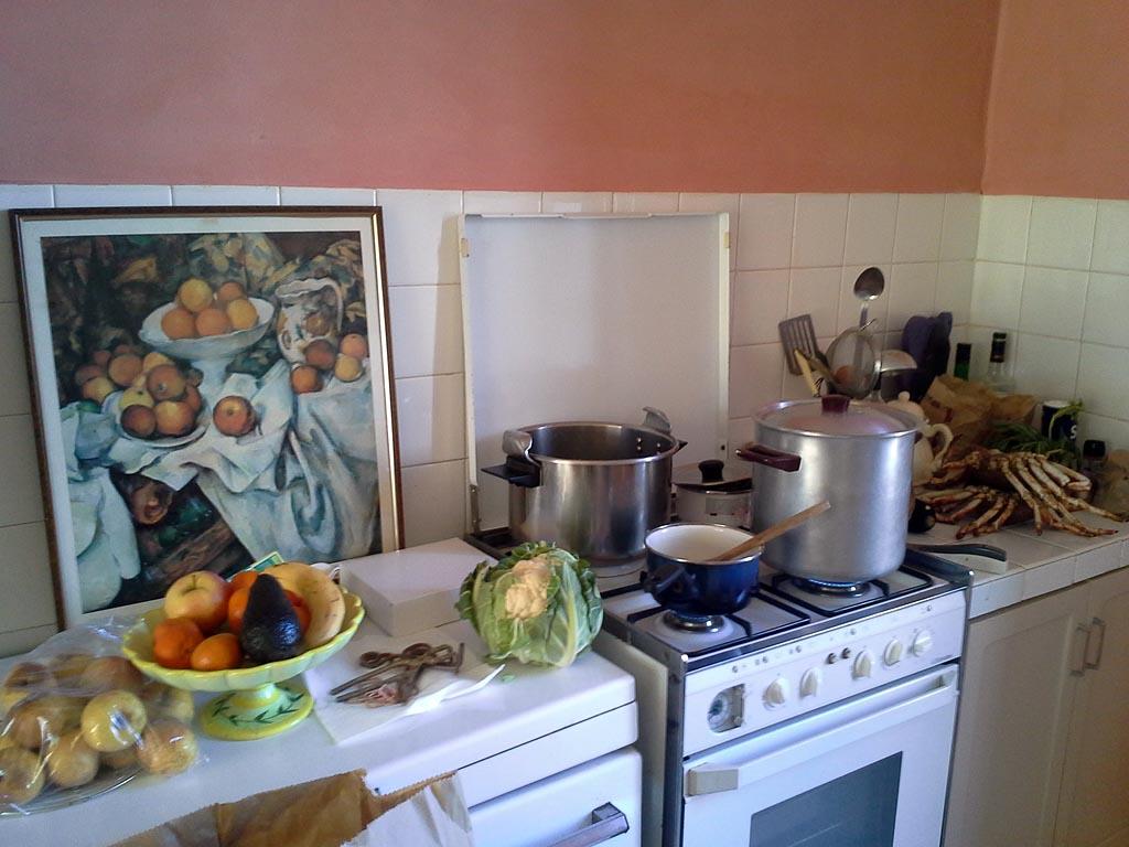 Grande maison de caract re avec jardin proche mer maison - Cuisine avec presqu ile ...