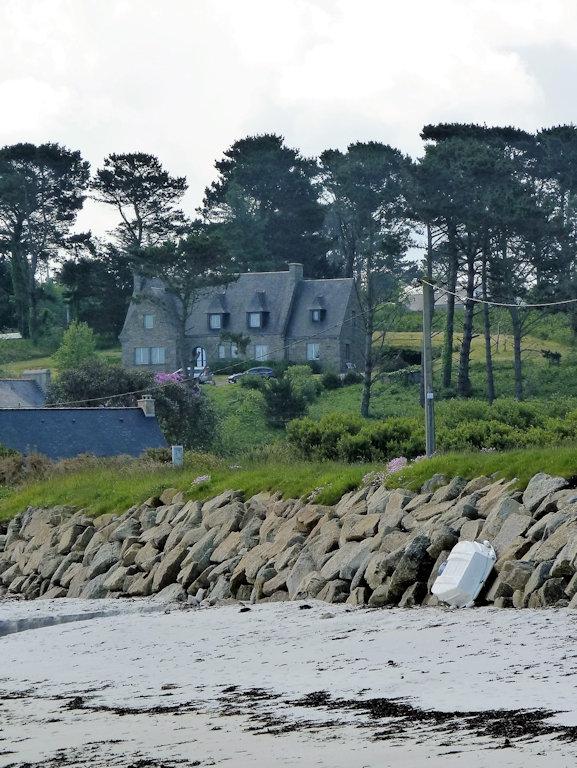maison en pierre vue mer avec spa 200m gr 34 et plage maison plouguerneau dans le finist re. Black Bedroom Furniture Sets. Home Design Ideas