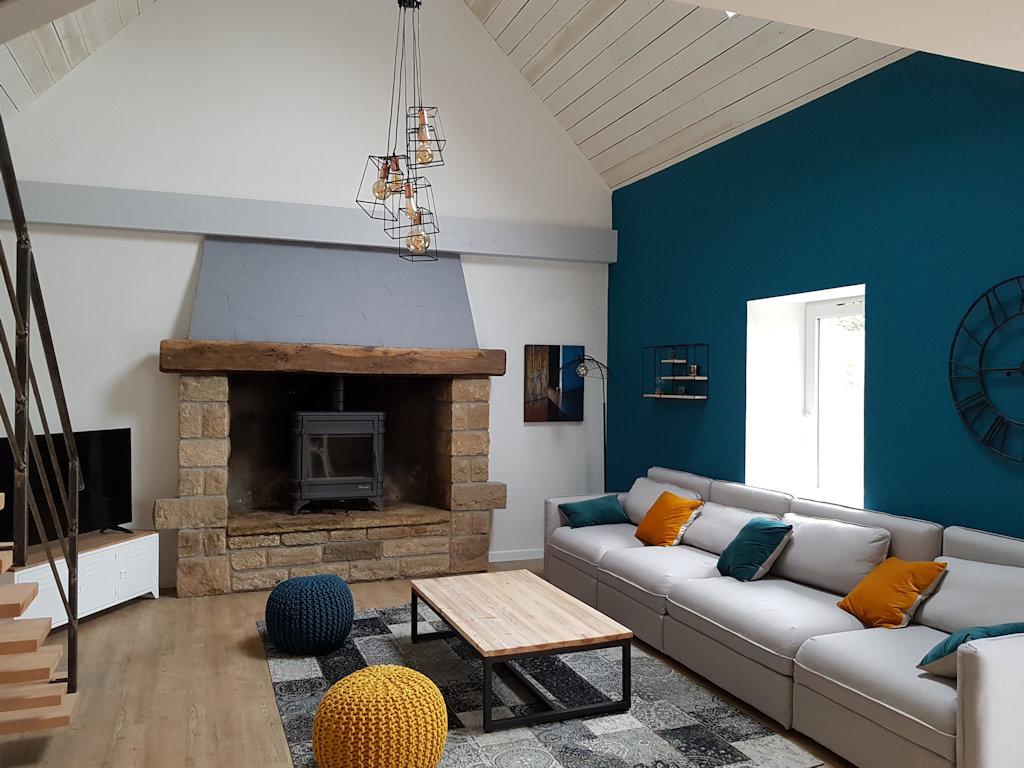 Maison en bord de mer avec piscine privée house in plonéour lanvern in le finistère 29 pays bigouden