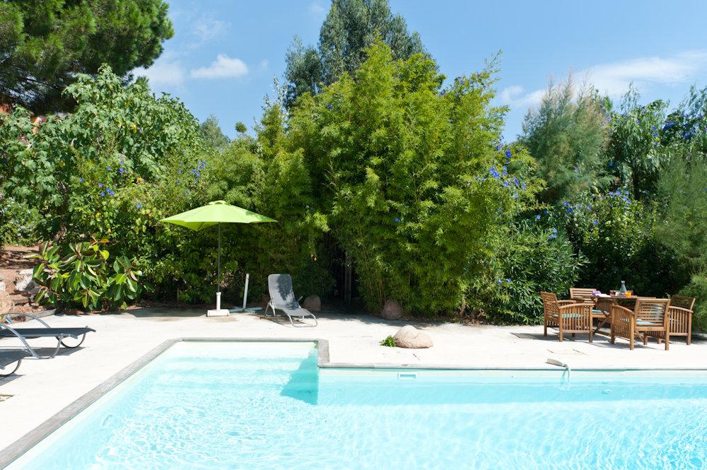 G te de charme piscine chauff e casas de vacaciones porto vecchio corse du sud - Gites de france corse du sud ...