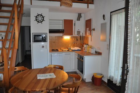 Maison de la Plage, F2 Duplex, terrasse ombragée, Haus Le ...