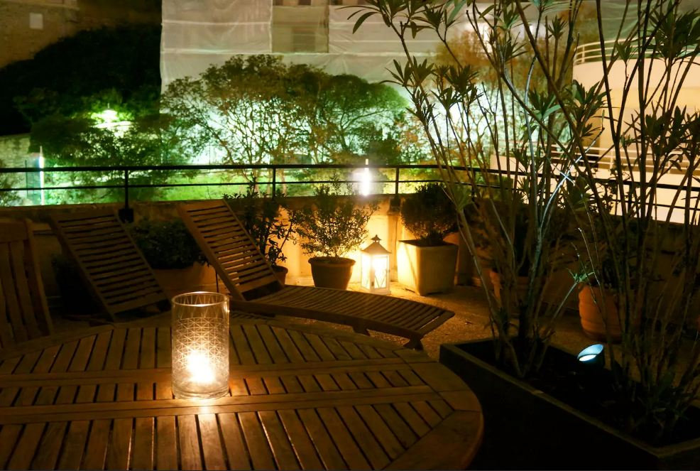 villa bego a plage du miramar terrasse priv e 30 m wifi appartement biarritz dans les. Black Bedroom Furniture Sets. Home Design Ideas