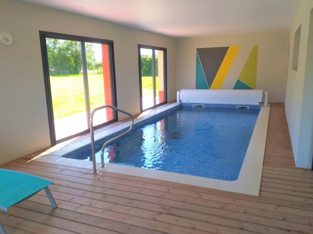 Robot Piscine Plan De Campagne maison piscine intérieure privée sans vis à vis chauffée 6 p