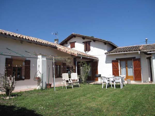 Maison plain pied avec terrasse couverte, Haus Lisle sur Tarn