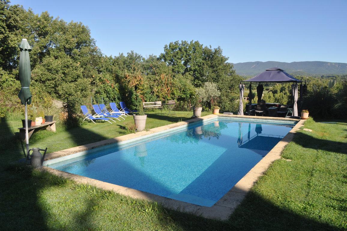 G te dans les vignes avec piscine partager appartement la tour d 39 aigues parc naturel - Gite dans les landes avec piscine ...