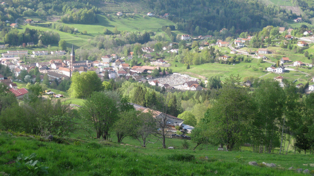 H bergement f mathieu ferienwohnung in saint maurice for 88 haute vosges
