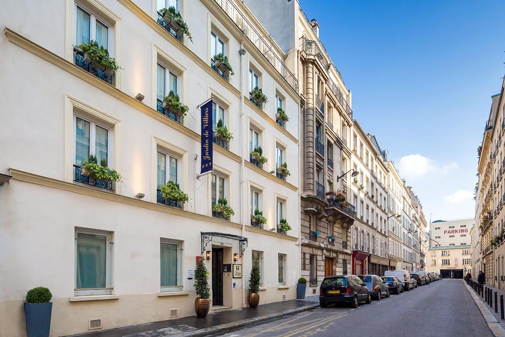 Photos de l 39 hotel jardin de villiers paris for Jardins hotel paris