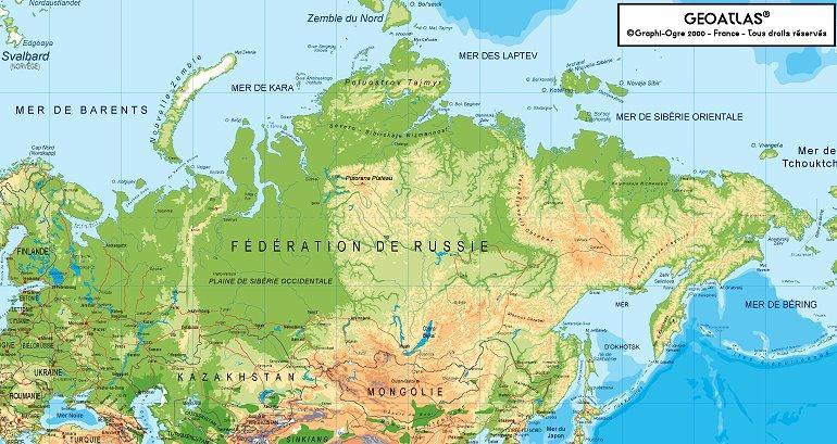 Le plus grand pays au monde : la Russie Russie