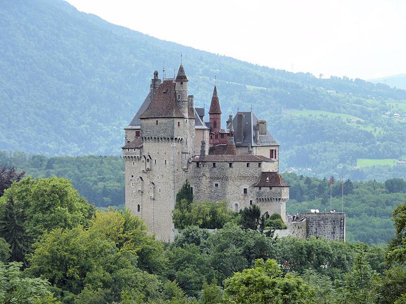 Tourisme menthon saint bernard haute savoie for Jardin du chateau annecy