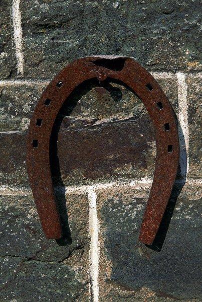 Un porte bonheur le blog bb - Comment mettre un fer a cheval pour porter bonheur ...