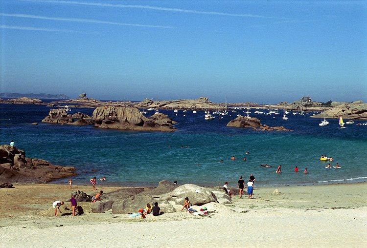 Locations De Vacances 224 La Plage Coz Pors Tr 233 Gastel Et Ses