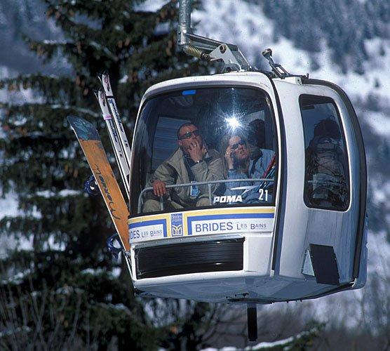 Brides les bains ski informations et enneigement - Office de tourisme de brides les bains ...