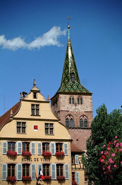 Chambres d 39 h tes l 39 eglise et mairie turckheim et ses - Chambre d hote colmar et ses environs ...