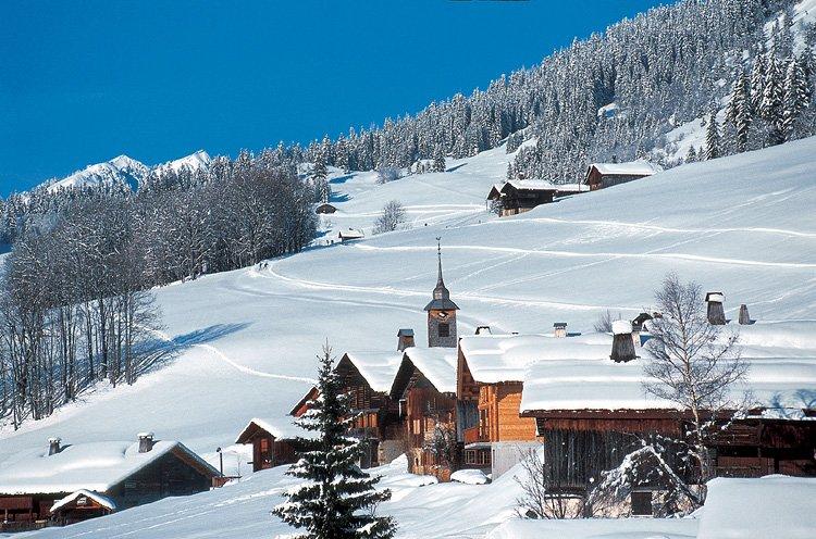 Le grand bornand ski informations et enneigement - Office du tourisme le grand bornand village ...