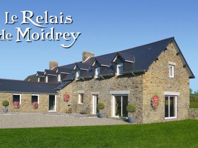 Le relais de moidrey portes du mont saint michel chambres d 39 h tes pontorson baie du mont - Le mont saint michel chambre d hotes ...