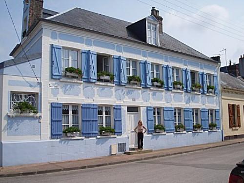 Chambres d 39 h tes la maison bleue en baie chambres le - Baie de somme chambre d hote ...